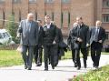 General director of Sevmash Nikolay Kalistratov meets president of the RF Dmitry Medvedev