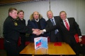 After signing of the memory certification about leading out of the ship from the workshop