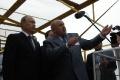 General director of Sevmash Nikolay Kalistratov reports to Vladimir Putin about motion of works at M