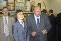 Министр экономического развития РФ Эльвира Набиуллина и генеральный директор Севмаша Николай Калистр