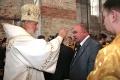 Патриарх Кирилл благословил генерального директора на сложную работу